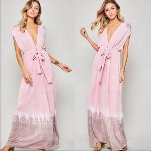 Restocked - Ombré Tie-Dye Maxi Dress